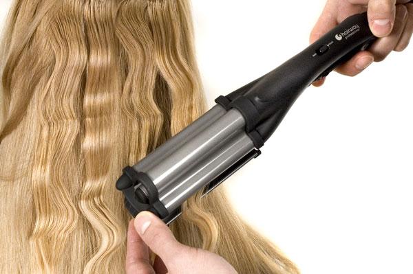 Плойка для волос волны