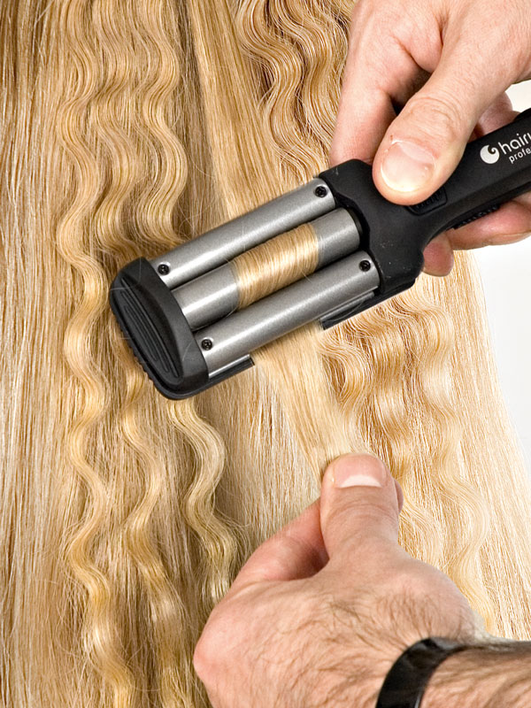 Цена тройная плойка для волос