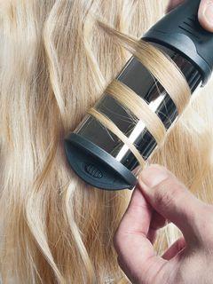Делаем локоны с помощью плойки-волны Hairway Deep Wave and Curling Iron Titanium-Tourmaline