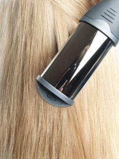Выпрямляем волосы с помощью плойки-волны Hairway Deep Wave and Curling Iron Titanium-Tourmaline