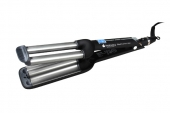 Плойка-волна Hairway Black&Silver Line 16-16-16мм 80W С035