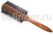 Брашинг Hairway Glossy Wood дер.щет-пласт.38мм (06929)