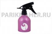Распылитель Hairway Barrel Logo розовый метал.250мл.