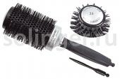 Термобрашинг Hairway Black Ion Ceramic черный 53мм