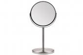 Зеркало Titania настольное двойное D-16см 1597 2-кр.увелич.