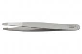 Пинцет V.K. прямой для бровей японская сталь 9,5 см