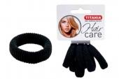 Резинки Titania 3,5см 6шт/уп черные 7871