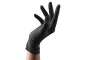 Перчатки Sibel латекс черн.100шт/уп