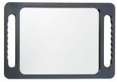 Зеркало Hairway задн.вида прямоуг.290*225 мм черное