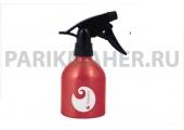 Распылитель Hairway Barrel Logo красный метал.250мл.