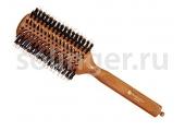 Брашинг Hairway Style 38мм дер.щет.шт.бел.