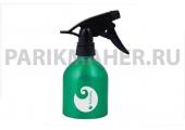 Распылитель Hairway Barrel Logo зеленый метал.250мл.
