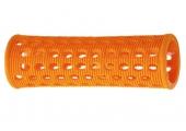 Бигуди Sibel пласт. 23мм оранж. 10шт/уп