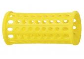 Бигуди Sibel пласт. 30мм желт. 10шт/уп