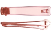 Книпсер Titania для ногтей 8см 1091/53RG B розовое золото