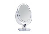 Зеркало Titania настольное двойное D - 12,5 см., 2-кр. увелич. 1595 L
