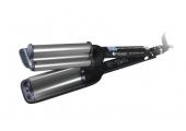 Плойка-волна Hairway Black&Silver Line 16-20-16 80W С036