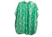 Пеньюар детский зеленый 120x95 см