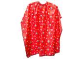 Пеньюар детский красный 120x95 см