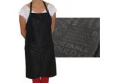 Фартук ES черный с карманом 04302 85*68 см