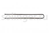 Шпильки Sibel 45мм чер.прям. 50шт/уп