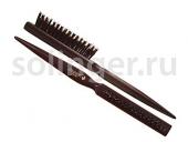 Щетка Hairway Three Row для начеса 3-ряд нат.щетина