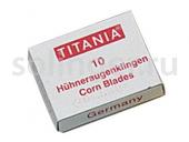 Лезвия Titania для скребка 10 шт/уп 3100/1x10.N Box