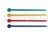 Палочки Sibel для бигуди 20шт/уп 77мм пластик цветные