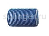 Бигуди-лип.(10) Sibel 40мм синие  6шт/уп
