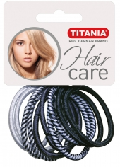 Резинки Titania для волос 4,5см 7865 10 шт/упак