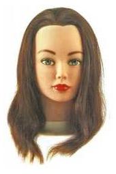 Голова S Cathy натур.волосы шатен 15-40см б/ш