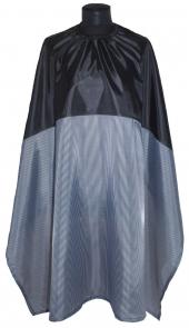 Пеньюар Barber в черно-белую полоску 146x133см