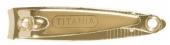 Книпсер Titania для ногтей 5,3см 1055 B позолота
