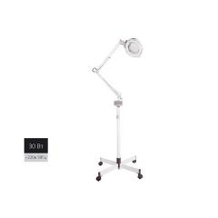 Лампа-лупа (увел.5 раз) на штативе напольная