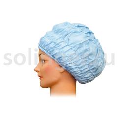 Шапочка Sibel (6) для химии с утепл.голубая