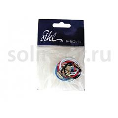 Резинки Sibel (25) для вол.цв.малые тонк10шт/уп