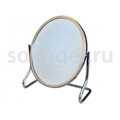 Зеркало Hairway наст.овал.в мет.опр.130*160 мм