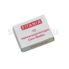 Лезвия Titania для скребка 10шт/уп 3100/1x10