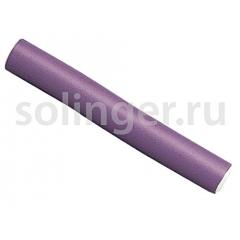 Бигуди-папил.(10) Sibel 18см фиол.20мм (41174)