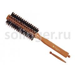 Брашинг Hairway Style 18мм дер.щет.шт.бел.