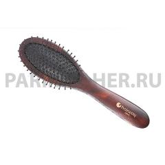 Щетка Hairway Choco массаж.9-ряд.металл.штифт.