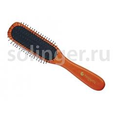 Щетка Hairway Black Cushion 7-ряд.масс.дер.мет.зуб.