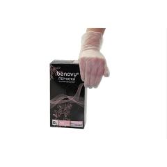 Перчатки однораз.винил прозрачные  50 пар/уп.