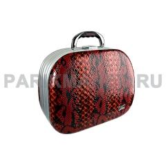 Чемодан Hairway питон черно-красный 360х200х290мм