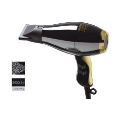 Фен Elchim 3900 Ionic,2400W, черный/золото