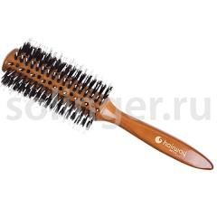 Брашинг Hairway Glossy Wood дер.щет-пласт.28мм (06928)