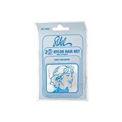 Сеточка-паутинка Sibel для прически,белая 2шт/уп