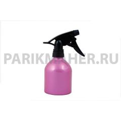 Распылитель Hairway Barrel для воды розовый метал.250мл.