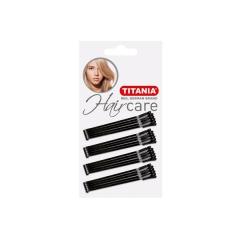 Невидимки Titania черные прямые 30шт/уп. 5см 8060/А
