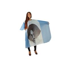 Пеньюар MF Girl голубой тонкий